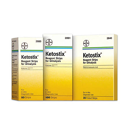 Bayer® Ketostix® Reagent Strips, Pack Of 100