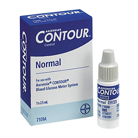 Bayer® Contour® Normal Control Solution, Normal, 2.5 mL