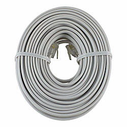 Ge Phone Line Cord 50 White By Office Depot Amp Officemax