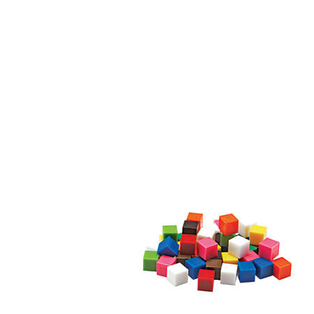 Learning Resources Centimeter Cubes, 1 Cm, Grades 1-9, Pack Of 500