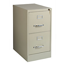 Realspace 22 Metal Vertical File Cabinet