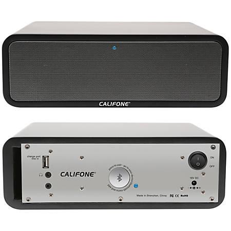 Califone PA-BT30 Speaker System - 30 W RMS - Wireless Speaker(s) - Portable