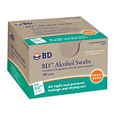 BD Sterile Alcohol Swabs Pack Of