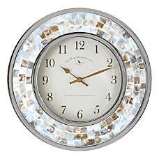 FirsTime Co Pearl Mosaic Wall Clock