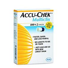 ACCU CHEK Multiclix Lancets SP Retail