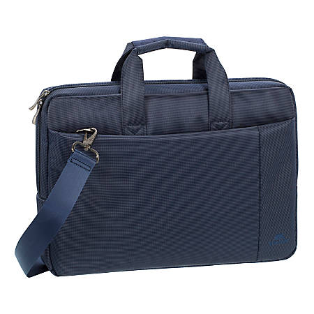 "Rivacase 8231 Laptop Bag With 15.6"" Laptop Pocket, Blue"