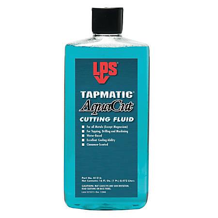 Tapmatic AquaCut Cutting Fluids, 16 oz, Bottle