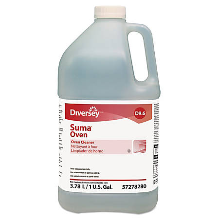 Suma® D9.6 Oven Cleaner, Unscented, 128 Oz