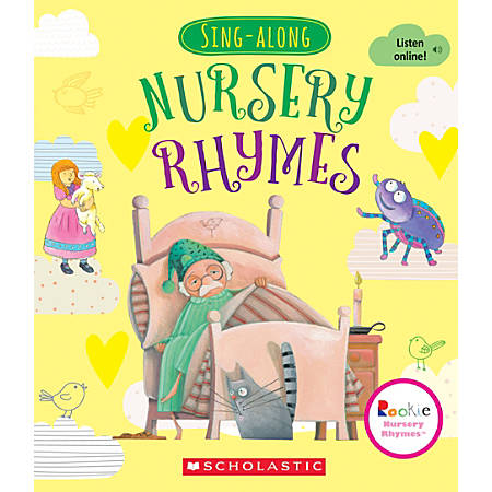 Scholastic Library Publishing Rookie Nursery Rhymes, Sing-Along Nursery Rhymes
