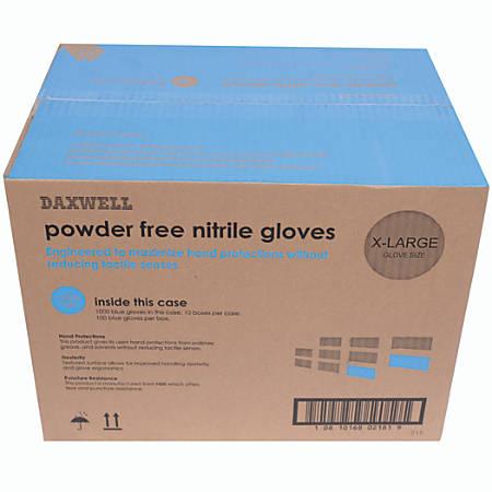 Nitrile Gloves, X-Large, Box Of 100