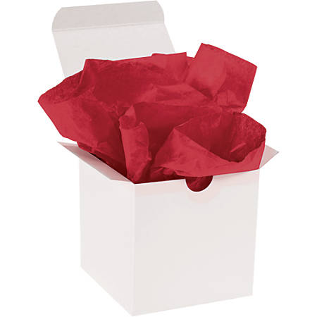 "Office Depot® Brand Gift-Grade Tissue Paper, 15"" x 20"", Scarlet, Pack Of 960"