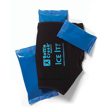Battle Creek® Equipment Ice It!® ColdCOMFORT™ Therapy System, Ankle/Elbow/Foot