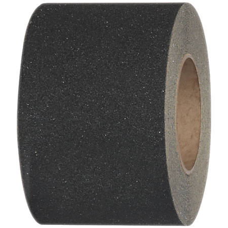 "Tape Logic® Heavy-Duty Antislip Tape, 3"" Core, 4"" x 60', Black"