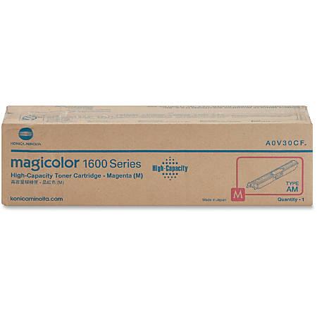 Konica Minolta Original Toner Cartridge - Laser - High Yield - 2500 Pages - Magenta - 1 Each