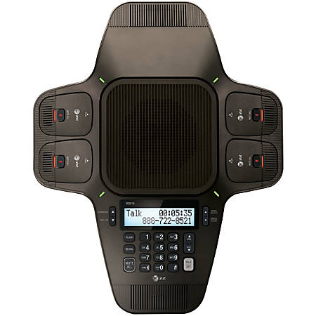 AT&T SB3014 DECT 6.0 Conference Phone - 1 x Phone Line - Speakerphone