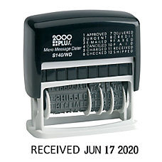 2000Plus Self Inking 12 in 1