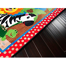 Flagship Carpets Cutie Jungle Rug Rectangle