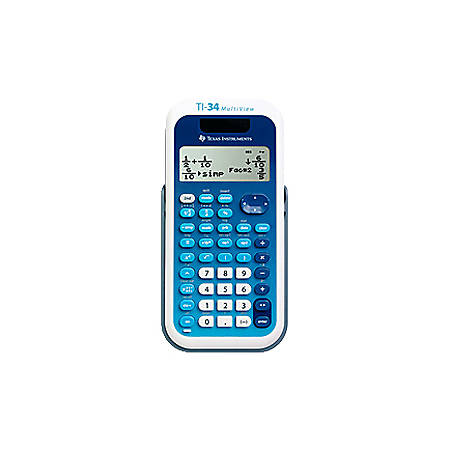 Texas Instruments MultiView TI-34 EZ Spot, Teacher Kit, Set of 10