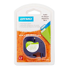 DYMO LT 10697 Black On White