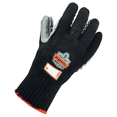Ergodyne ProFlex 9000 Certified Lightweight Anti-Vibration Gloves, Medium, Black