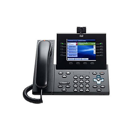 Cisco CP-89/9900-HS-CL= Spare Slimline Handset for IP Phone - Charcoal