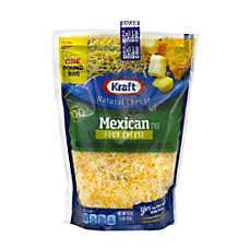 Kraft Mexican 4 Cheese Finely Shredded