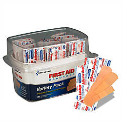 PhysiciansCare First Aid Bandages Assorted Sizes