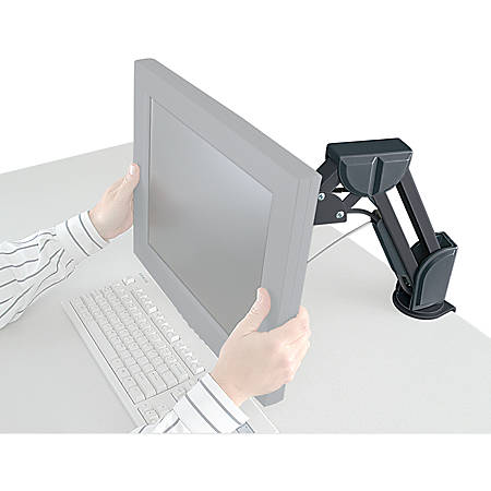 Kensington® Flat Panel Desk Mount Monitor Arm, Black