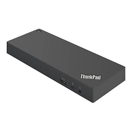 Lenovo ThinkPad Thunderbolt 3 Dock Gen 2 - US - for Notebook - 135 W - USB Type C - Thunderbolt - Wired