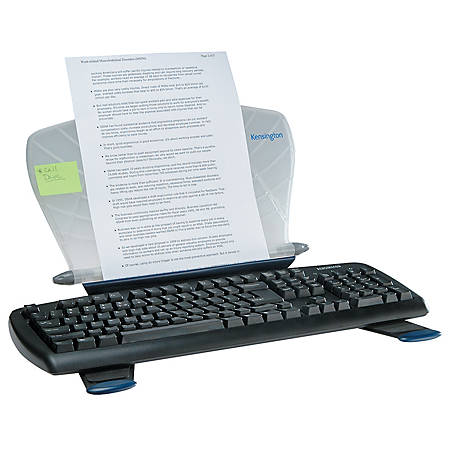 Kensington® InSight® Desktop Adjustable Book And Copyholder