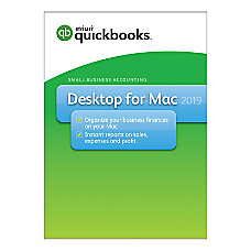 Intuit QuickBooks Desktop 2019 For Apple
