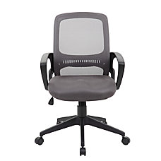 Boss Mesh Task Chair Gray