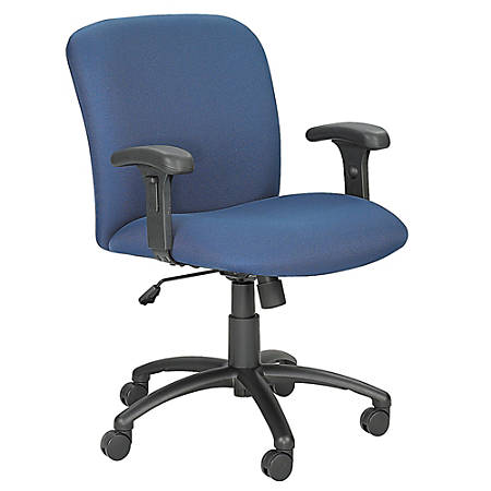 Safco® Armrests For Uber™ High-Back Chairs, T-Shaped, Black