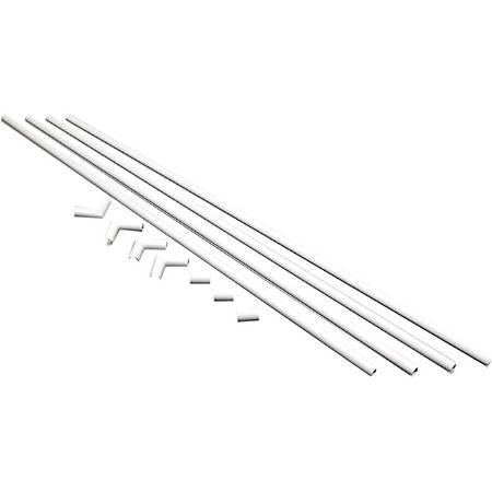Wiremold / Legrand CordMate Cord Organizer Kit - White - 1 Pack