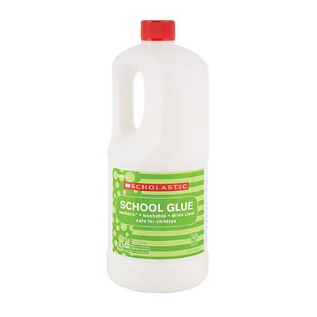 Scholastic Liquid Glue, 32.4 Oz, White
