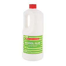 Scholastic Liquid Glue 324 Oz White