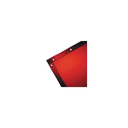 Wilson Industries See-Thru Welding Curtain, 6' x 10', Orange