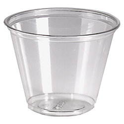 Dixie® Crystal Clear Plastic Cups, 9 Oz., Pack Of 50