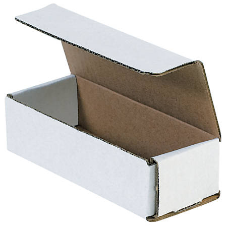 """Office Depot® Brand 14"""" Corrugated Mailers, 3""""H x 3""""W x 14""""D, White, Pack Of 50"""