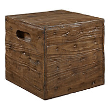 Powell Munroe Crate Side Table 17