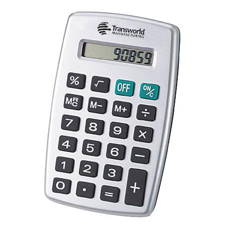 "Value Calculator, 4 1/2"" x 2 3/4"""