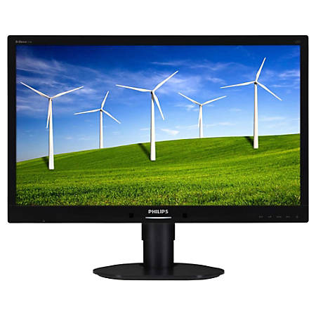 """Philips Brilliance 241B4LPYCB 24"""" LED LCD Monitor - 16:9 - 5 ms"""