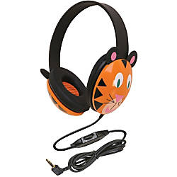 CALIFONE KIDS STEREO PC HEADPHONE TIGER