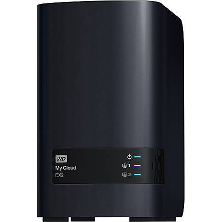 WD My Cloud EX2 Personal Cloud Storage, Diskless
