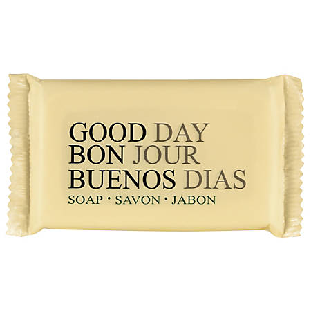 "Good Day™ Scented Amenity Bar Soap, 1 1/2"", Case Of 500"