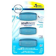 Febreze SmallSpaces Air Freshener Refills Linen