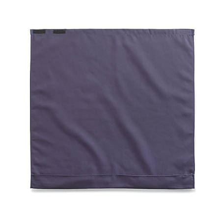 "Medline Dignity Napkins, Crumb Catcher, Classic Fit, 27 1/2"" x 27"", Navy, Case Of 12"