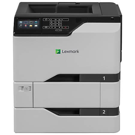Lexmark CS720dte Laser Printer - Color - 2400 x 600 dpi Print - Plain Paper Print - Desktop