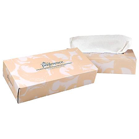 Georgia-Pacific 2-Ply Facial Tissue, 100 Sheets Per Box, Case Of 30 Boxes