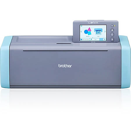 Brother ScanNCut SDX125 Electronic Cutting System - Aqua, Gray